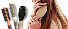 oval brush, hair extensions brush, baby hair brush