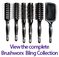 Brushworx Bling, Hair Brush