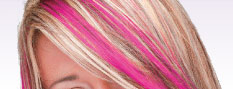  coloured hair streaks