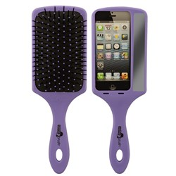 Selfie Hair Brush by The Wet Brush in Purple