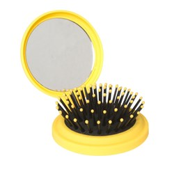 The Wet Pop Up Hair Brush by The Wet Brush in Yellow