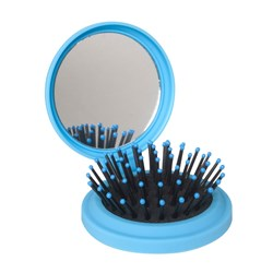 The Wet Pop Up Hair Brush by The Wet Brush in Blue