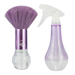 The Wet Brush Style Mates Neck Duster and Water Spray in Purple