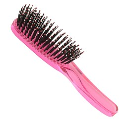 Taylor Madison by Brushworx Soft & Smooth Medium Hair Brush – Light Pink