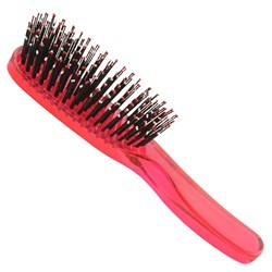 Taylor Madison by Brushworx Soft & Smooth Medium Hair Brush – Dark Pink