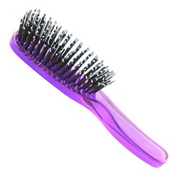 Taylor Madison by Brushworx Soft & Smooth Medium Hair Brush – Purple