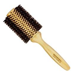 Brushworx Planet Bamboo Boar Bristle Radial Brush - Large