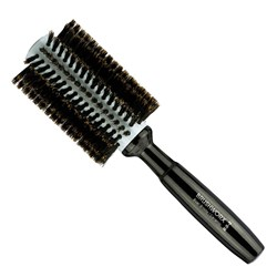 Brushworx Natural Woodgrain Boar Bristle Radial Hairbrush - Medium