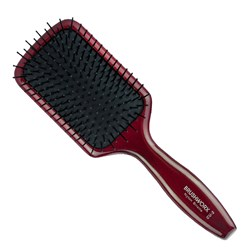 Brushworx Natural Woodgrain Paddle Hair Brush