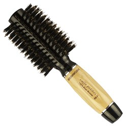 Brushworx Caffe Petites Boar Bristle Radial Hairbrush