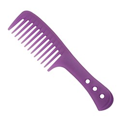 Premium Pin Company 999 Purple Shower Comb