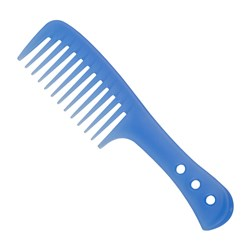 Premium Pin Company 999 Blue Shower Comb