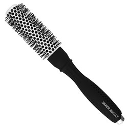 Silver Bullet Black Velvet Hot Tube Hair Brush Small