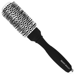 Silver Bullet Black Velvet Hot Tube Hair Brush Medium