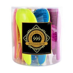 Premium Pin Company 999 Detangler Hair Brushes 12pc