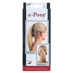 Mia E Pony Elongated Ponytail Holder