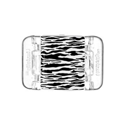 Linziclip Midi Hair Clip Black and White Tiger