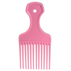 Dateline Professional Pink Afro Comb
