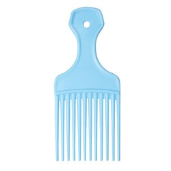 Dateline Professional Blue Afro Comb