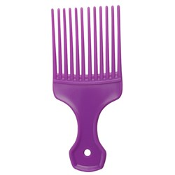 Salon Smart Afro Hair Comb, Purple