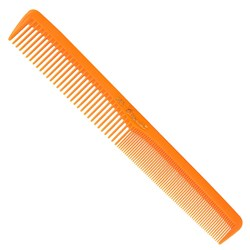 Krest Cleopatra 400 Neon Hair Cutting Comb, Orange