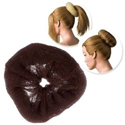Dress Me Up Hair Donut Brown – X-Large, Regular