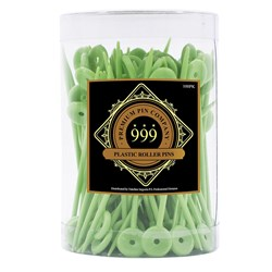 Premium Pin Company 999 Medium Plastic Roller Pins - 701