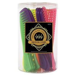 Premium Pin Company 999 Shower Combs, 36pc