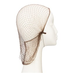 Dress Me Up Slumber Hair Net in Brown