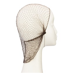 Dress Me Up Slumber Hair Net in Dark Brown