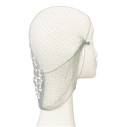 Dress Me Up Slumber Hair Net in Grey
