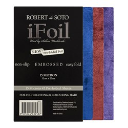 Robert de Soto Coloured Embossed Foil - 45pk