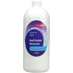 BeautyPRO Acetone Free Polish Remover - 1 litre
