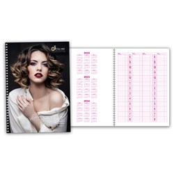 Dateline Professional 4 Column Appointment Book