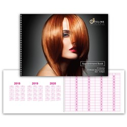 Dateline Professional 9 Column Appointment Book