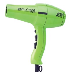 Parlux 1800 Eco Hair Dryer Green