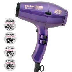 Parlux 3500 Super Compact Ceramic & Ionic Hair Dryer - Purple