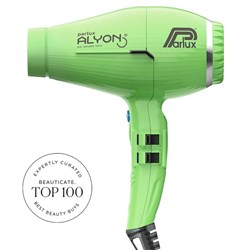 Parlux Alyon Air Ionizer Tech Hair Dryer Green