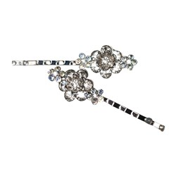 Revlon Crystal Hair Pins, 2pk