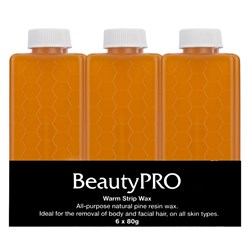 BeautyPRO Warm Strip Wax - 6pk