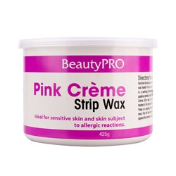 BeautyPRO Pink Creme Strip Wax - 425g