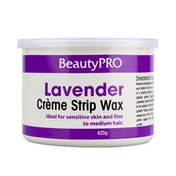 BeautyPRO Lavender Creme Strip Wax - 425g