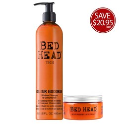 TIGI Bed Head Kissed By A Goddess Duo Hair Pack