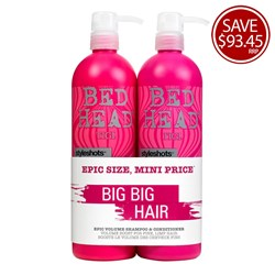 TIGI Bed Head Styleshots Epic Volume Tween Duo Pack