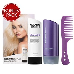 Keratin Complex Blondshell Hair Care Gift Pack