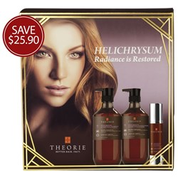 Theorie Helichrysum Radiance Is Restored Pack