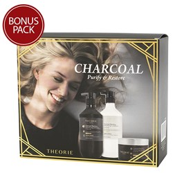 Theorie Charcoal Bamboo Detoxifying Gift Pack