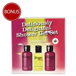Treaclemoon Deliciously Delightful Shower Gel Travel Set