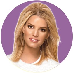 Hairdo Jessica Simpsons Tru2Life Bump Up The Volume Mid-Length Hair Extensions