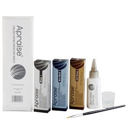 Apraise Eyelash and Eyebrow Tint Kit 7pc